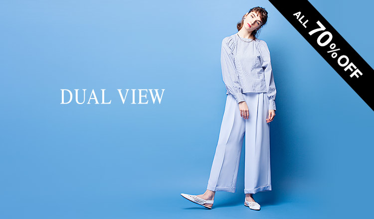 DUAL VIEW -ALL 70%OFF-