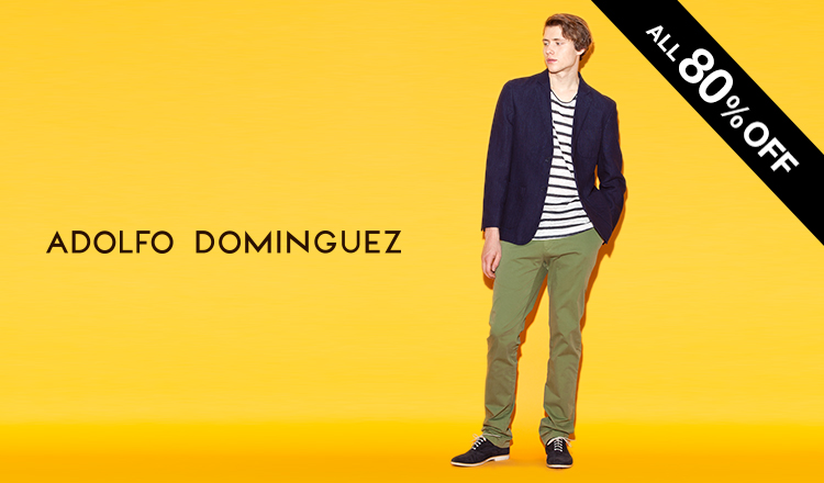 ADOLFO DOMINGUEZ MEN - MAX 80%OFF