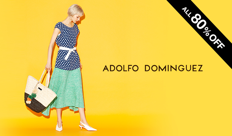 ADOLFO DOMINGUEZ WOMEN OVER 80%OFF