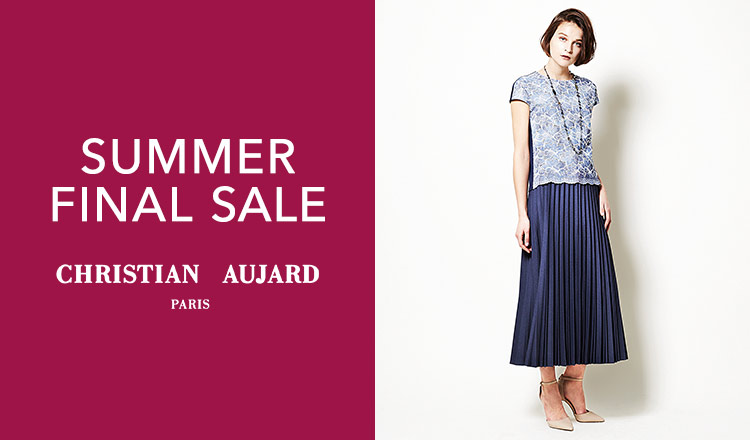 CHRISTIAN AUJARO -SUMMER FINAL SALE-
