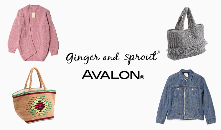 GINGER AND SPROUT / AVALON -ALL 80% OFF OVER-