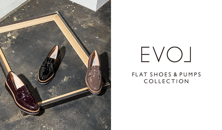 EVOL -FLAT SHOES & PUMPS COLLECTION-