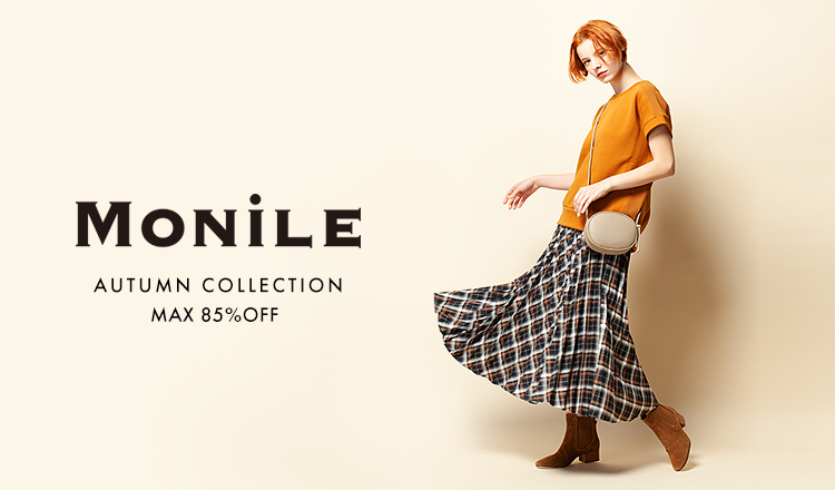 MONILE -AUTUMN COLLECTION MAX 85%OFF-