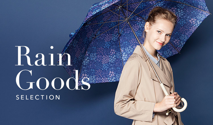 Rain goods selection