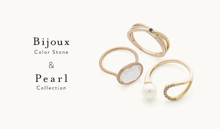 Bijoux Color Stone & Pearl Collection