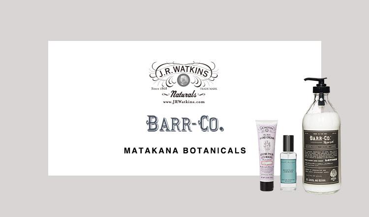 J.R.Watkins/ BARR-CO. / MATAKANA BOTANICALS