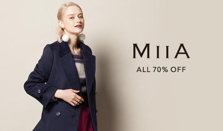 MIIA --秋冬 ALL70%OFF--