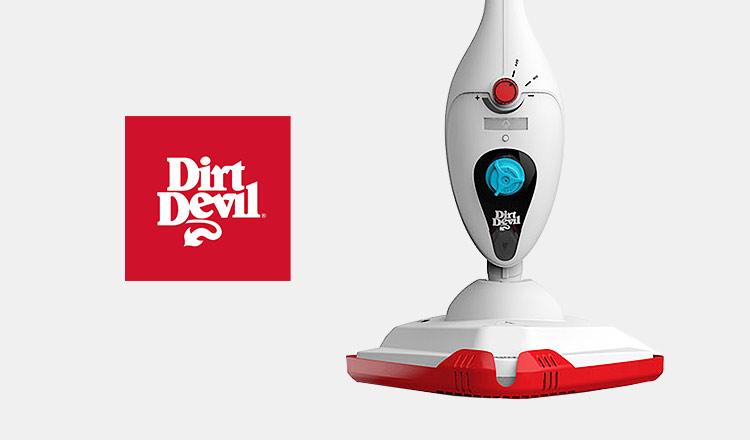 DIRT DEVIL&CATCH MOP -短時間で楽々お掃除 -