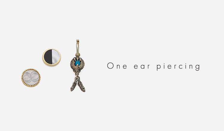 One ear piercing