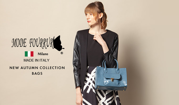 MODE FOURRURE- NEW AUTUMN COLLECTION BAGS-