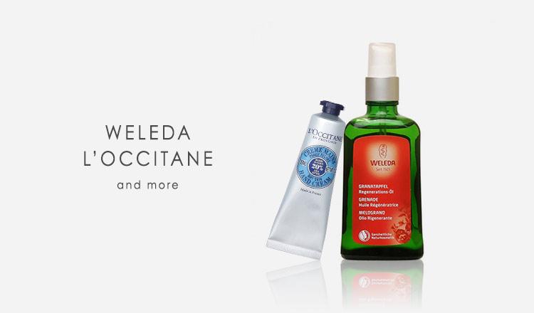 WELEDA/L'OCCITANE and more