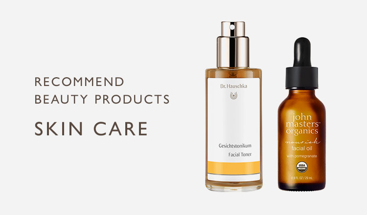 RECOMMEND BEAUTY PRODUCTS-SKIN CARE-