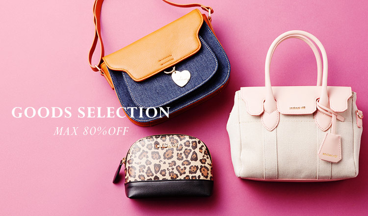 GOODS SELECTION MAX 80%OFF    WOMEN
