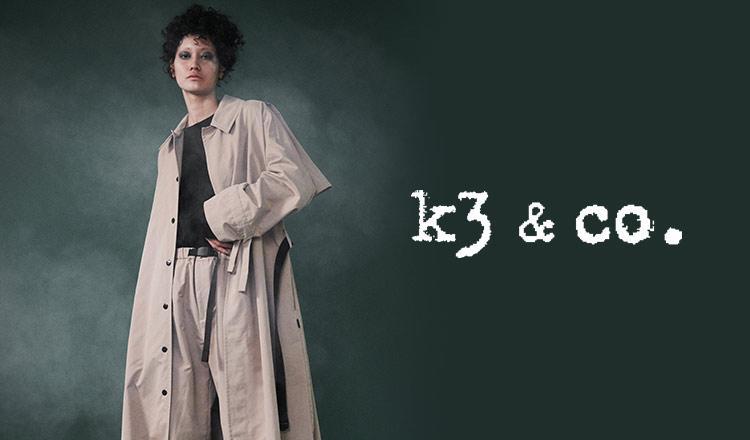 k3&co.(ケイスリーアンドコー)