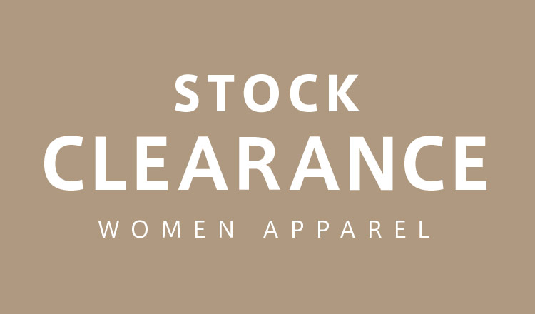 STOCK CLEARANCE WOMENS APPAREL