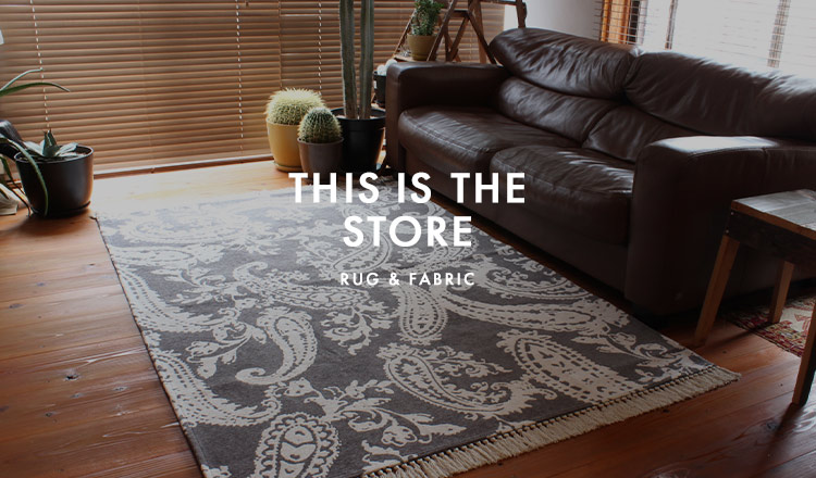 THIS IS THE STORE - RUG & FABRIC-