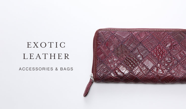 EXOTIC LEATHER ACCESSORIES & BAGS