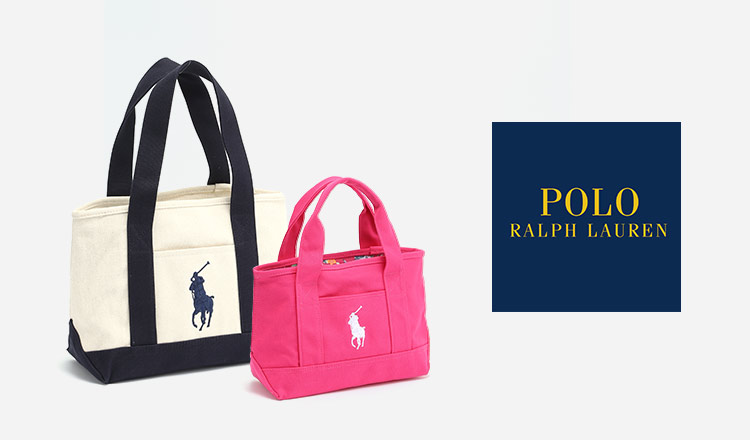 POLO RALPH LAUREN -TOTE BAG-