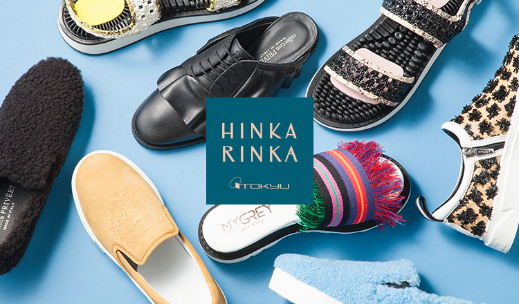HINKA RINKA -DESIGNER'S SHOES BY 東急百貨店-