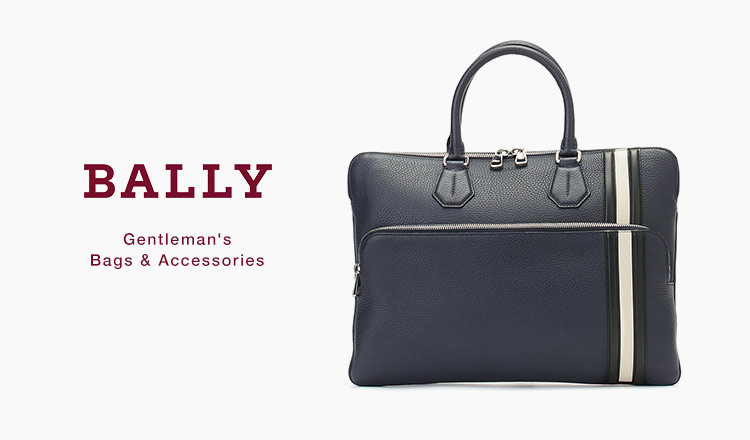 BALLY : Gentleman's Bags & Accessories