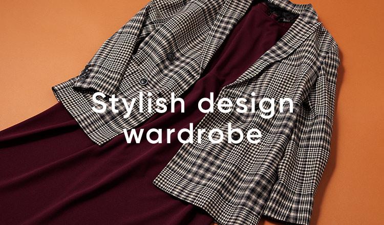 Stylish design wardrobe