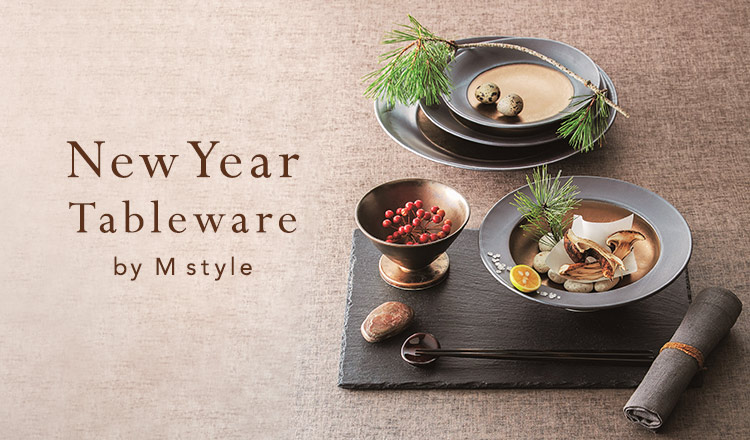 New Year tableware by M style