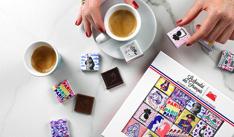 フランス人の愛する 100%自然派なチョコレート -LE CHOCOLAT DES FRANCAIS