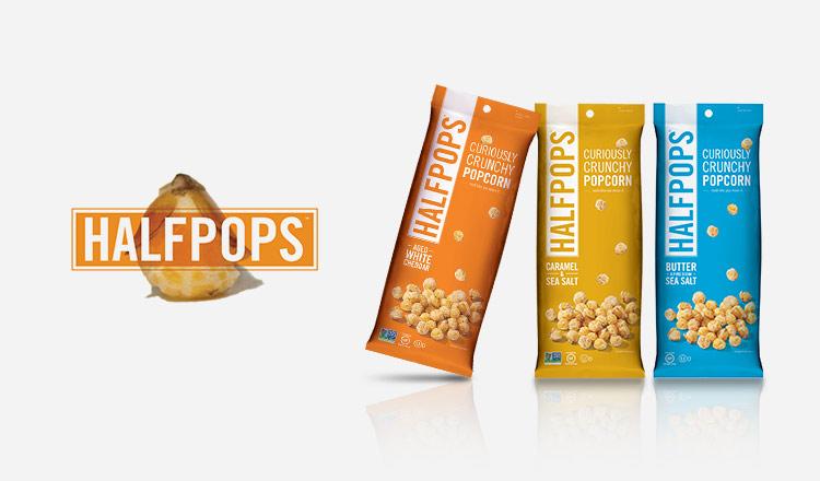 ふしぎな食感のポップコーン-HALFPOPS-
