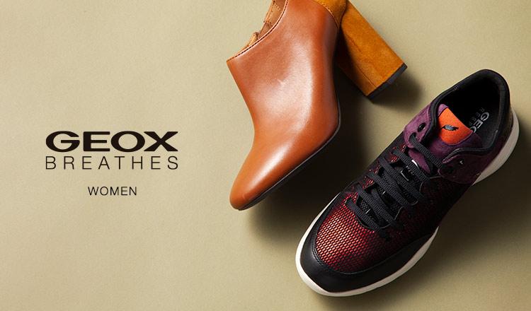 GEOX WOMEN -イタリア特許取得 究極の呼吸する靴-