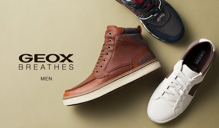 GEOX SHOES & APPAREL - イタリア特許取得 究極の呼吸する靴-