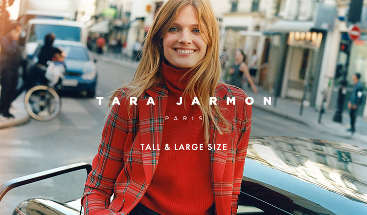 TARA JARMON -TALL & LARGE SIZE-