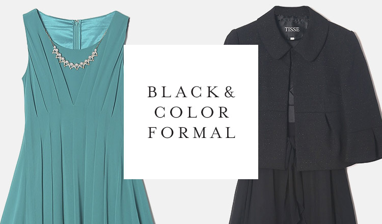 BLACK & COLOR FORMAL