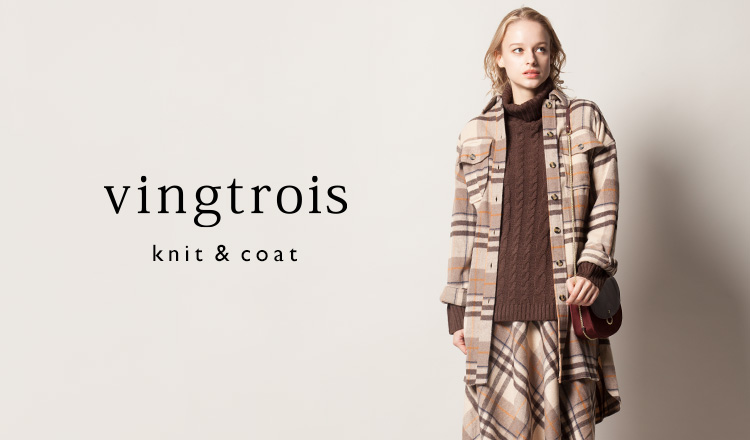 VINGTROIS -knit & coat-