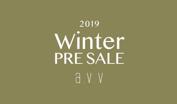 a.v.v Men -2019 WINTER PRE SALE-