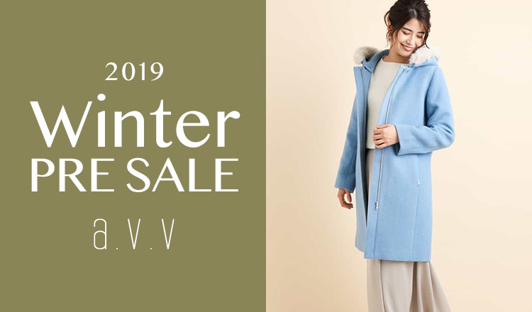 a.v.v Women -2019 WINTER PRE SALE-