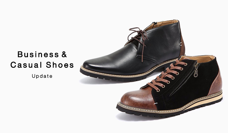 Business & Casual Shoes Update