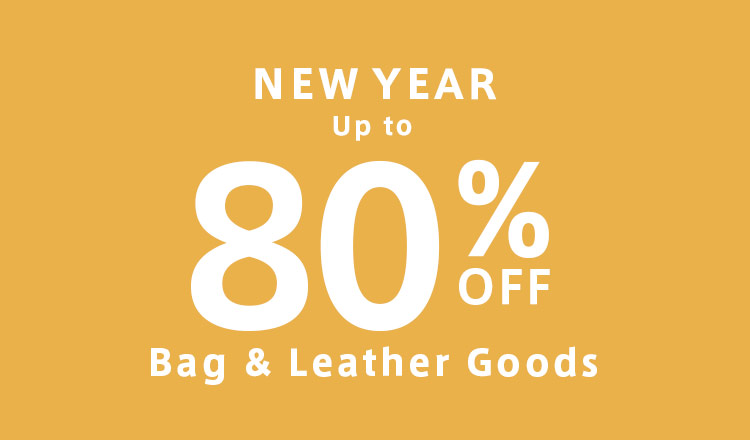 NEW YEAR UP to 80%OFF SALE : BAG & Leather Goods