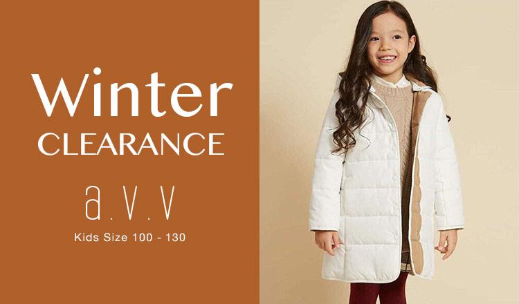 a.v.v Kids -WINTER CLEARANCE Kids Size 100-130-
