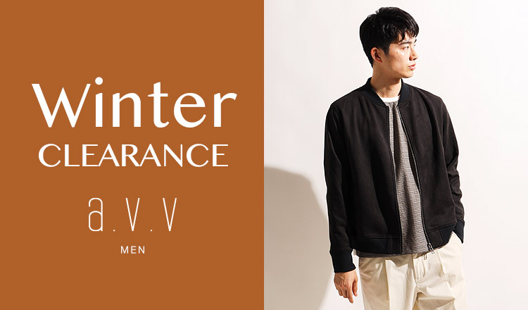 a.v.v Men -WINTER CLEARANCE-