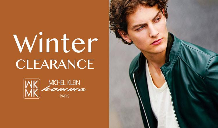 MK MICHEL KLEIN HOMME -WINTER CLEARANCE-