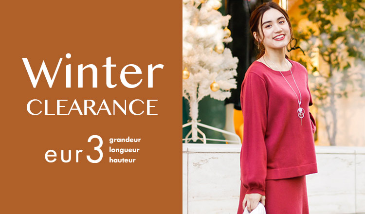 EUR3 -WINTER CLEARANCE-