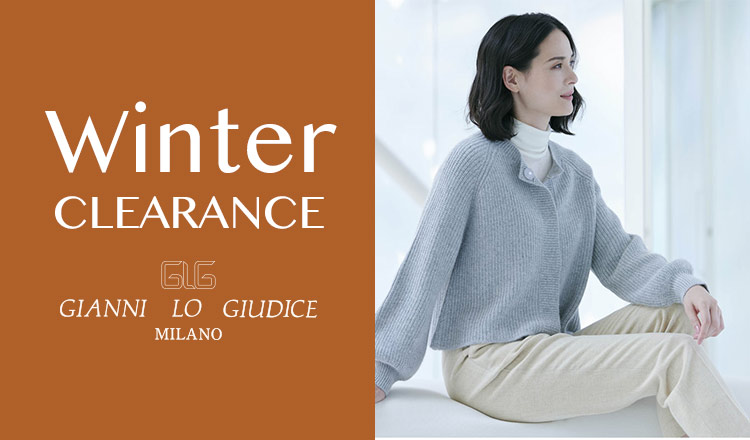 GIANNI LO GIUDICE -WINTER CLEARANCE-