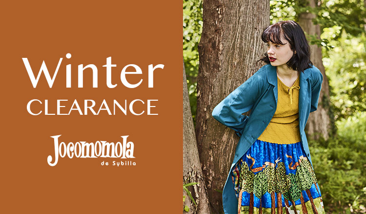 JOCOMOMOLA -WINTER CLEARANCE-