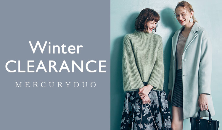 MERCURYDUO -WINTER CLEARANCE-