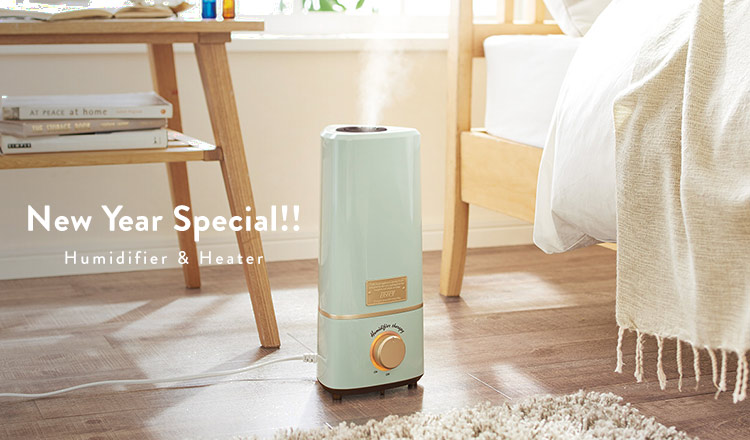 New Year Special!  Humidifier &Heater