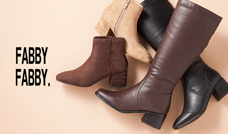 FABBY FABBY -BOOTS COLLECTION-