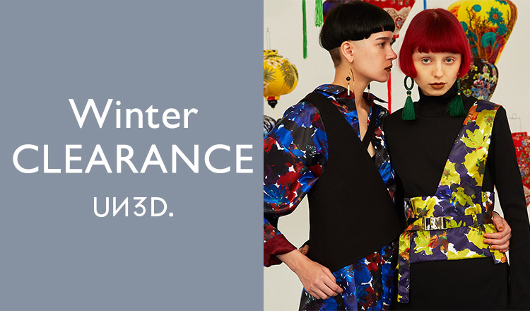 UN3D. -WINTER CLEARANCE-