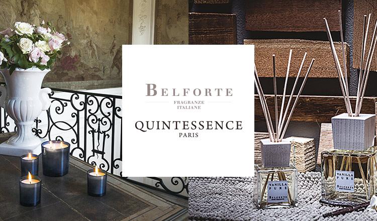 ×BELFORTE / QUINTESSENCE -home essence -