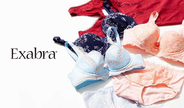 EXABRA  - 胸育ブラ 矯正ガードル -