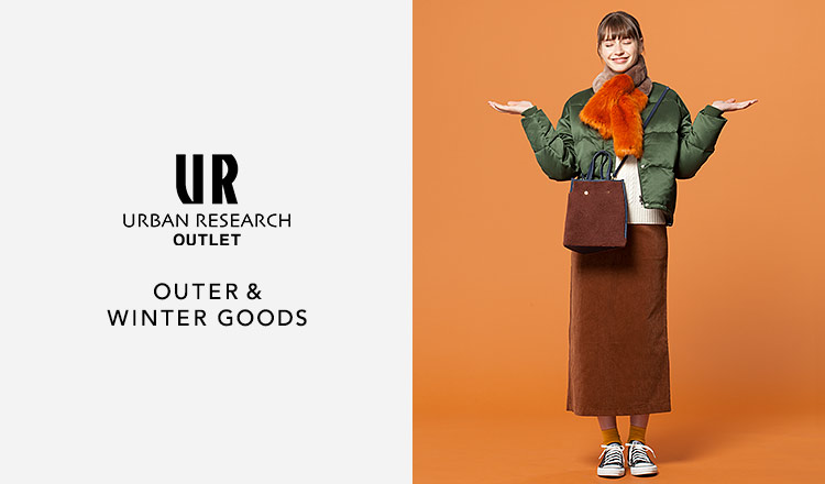 URBAN RESEARCH OUTLET -OUTER & WINTER GOODS-